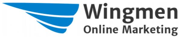 Wingmen Logo in blau